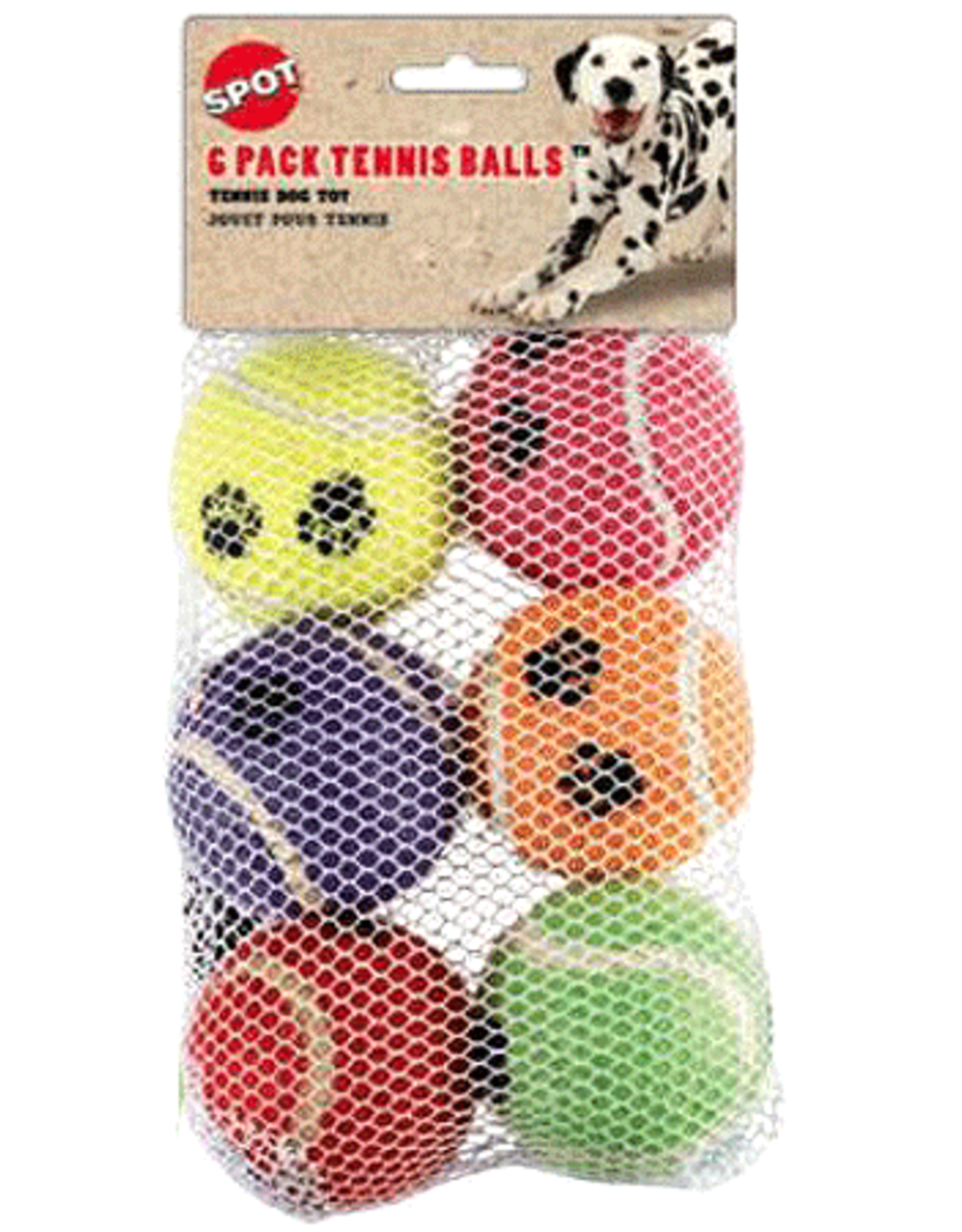 Ethical Pet Products ETHICAL Tennis Ball 6pk