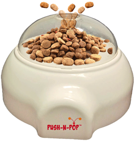Ethical Pet Products ETHICAL Push-N-Pop Treat Dispenser