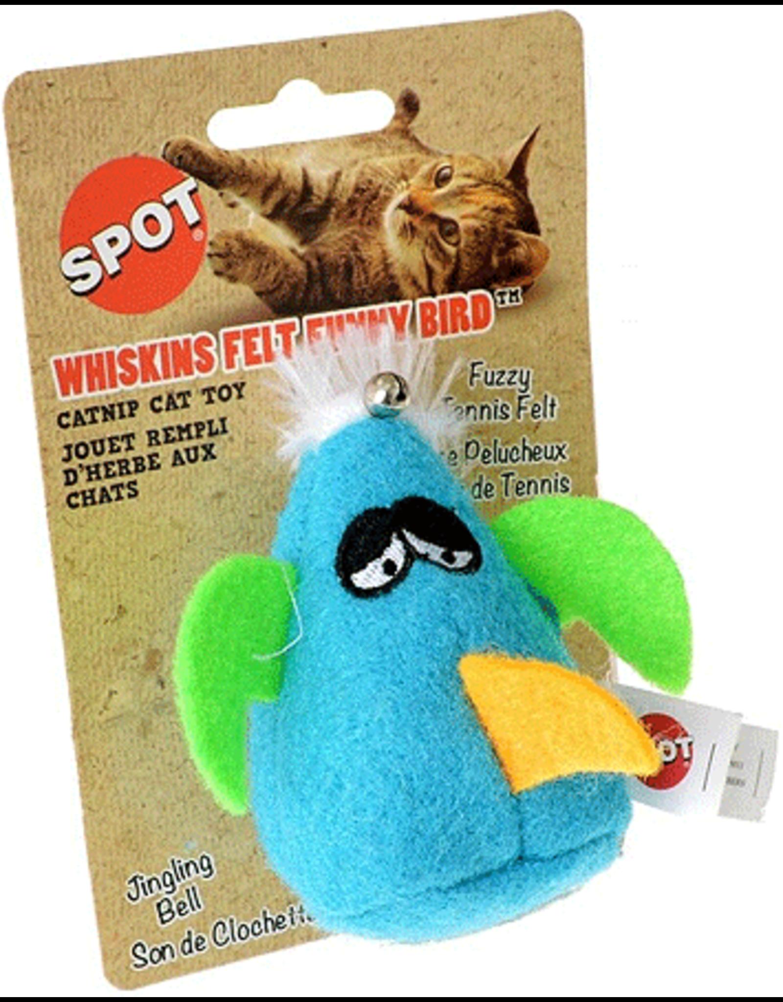 Ethical Pet Products ETHICAL Cat Whiskins Felt Bird wCatnip