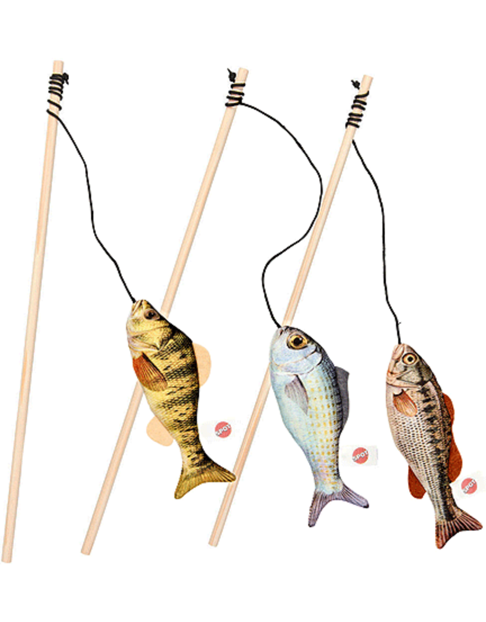 Ethical Pet Products ETHICAL Gone Fishin Teaser Wand Asst