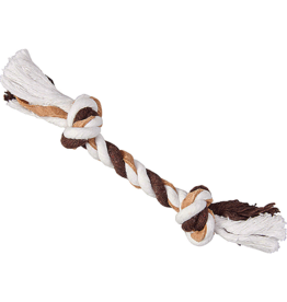 Ethical Pet Products LEATHER ROPE 2 Knot S