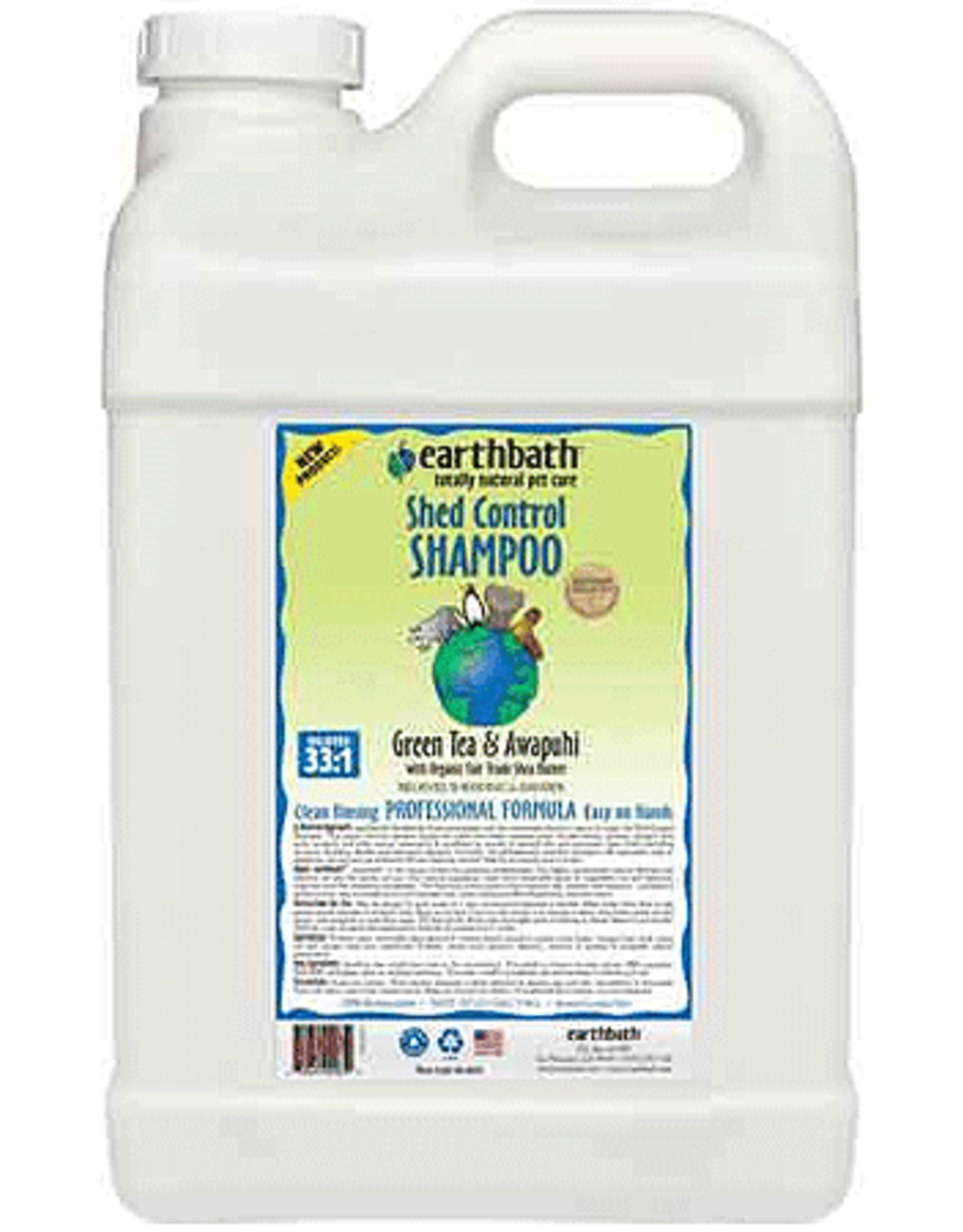 Earthbath EARTHBATH Shed Control Shampoo 2.5G