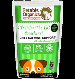Petabis Organics PETABIS CBD Calming Support Snack 15ct