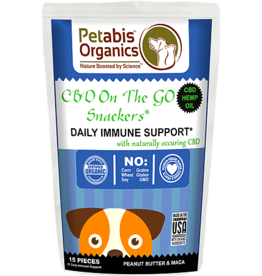 Petabis Organics PETABIS CBD Immune Snack 15ct