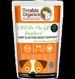 Petabis Organics PETABIS CBD Joint-Active Body Snack 15ct
