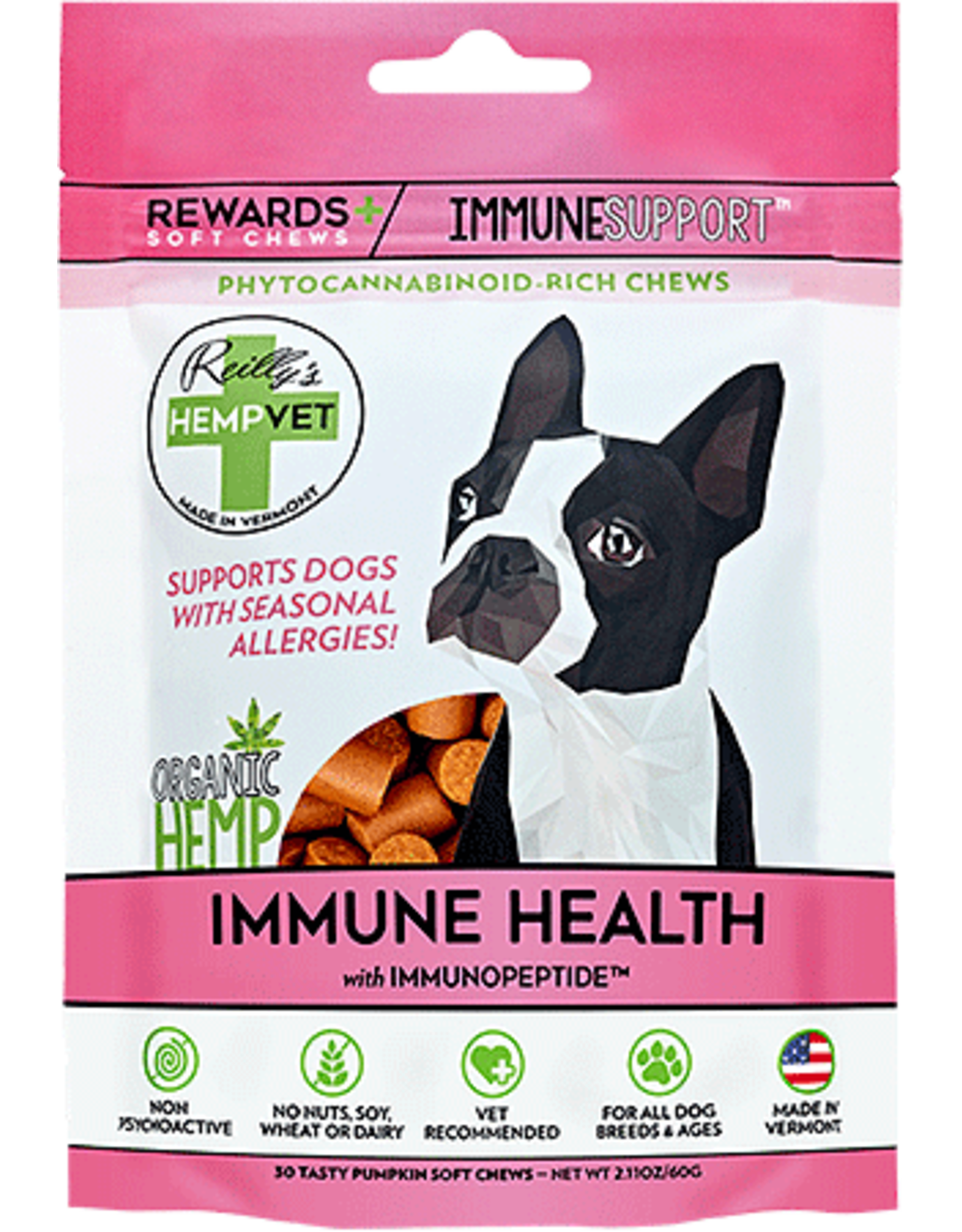 HempVet HEMPVET Rewards Immunity 30ct