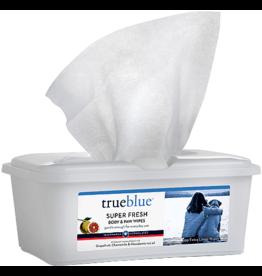 True Blue TRUEBLUE Super Fresh Body  Paw Wipes 100ct