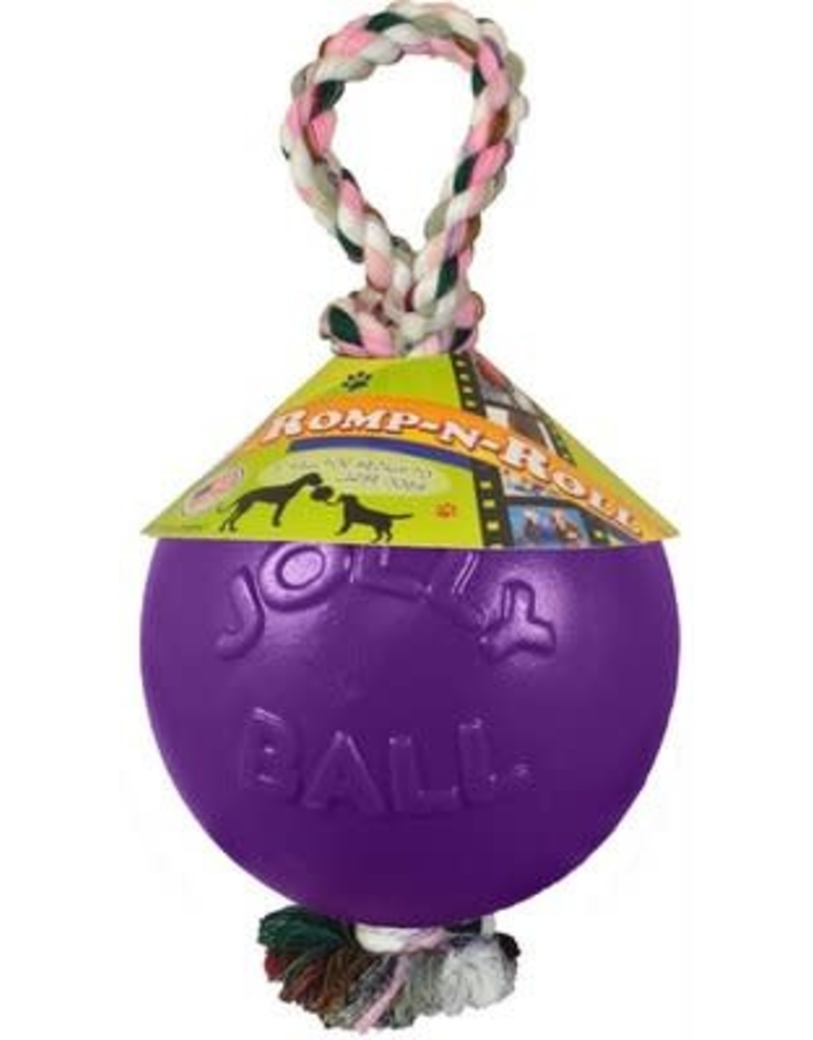 Jolly Pet JOLLYPET Romp-n-Roll 6in Purple