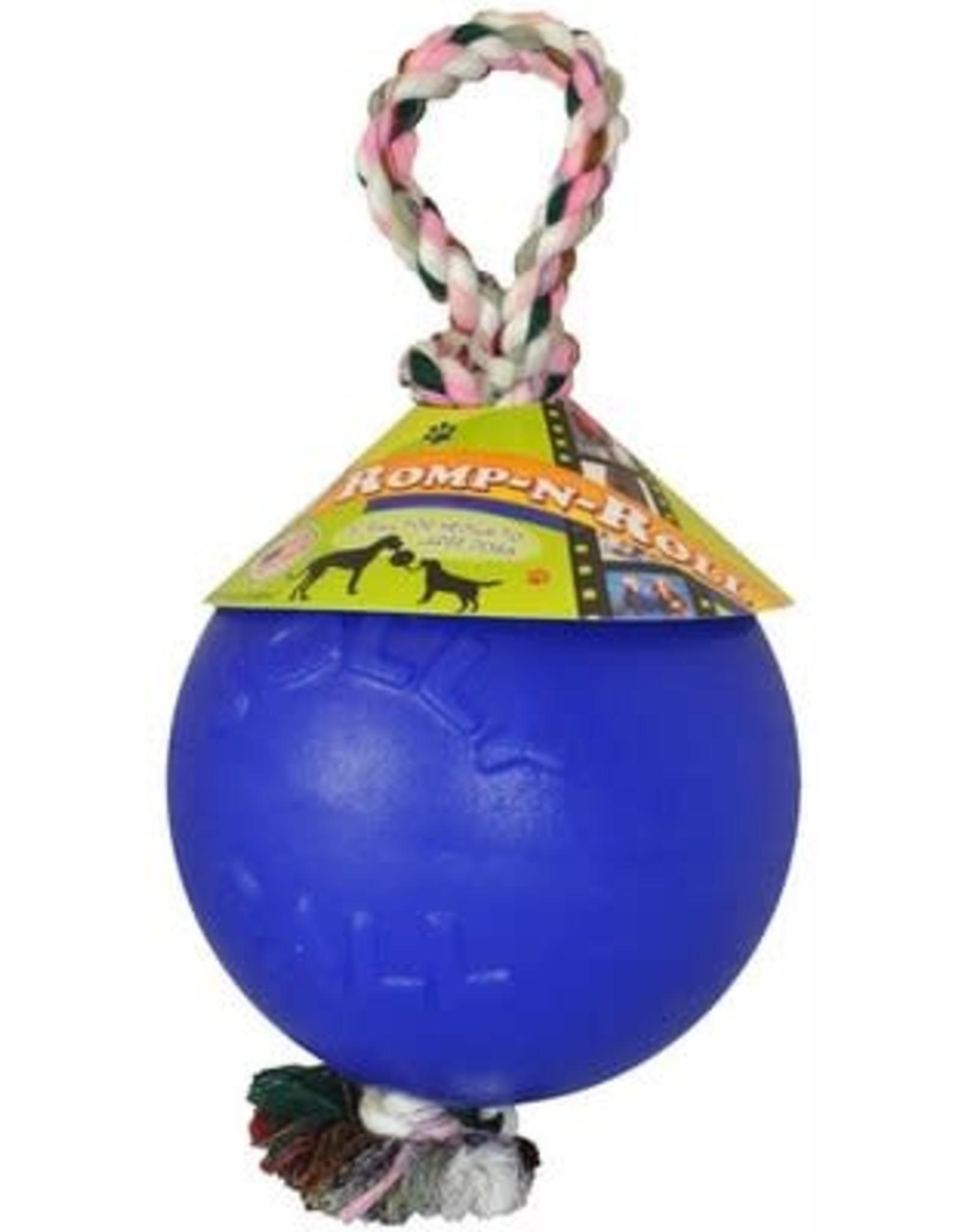 Jolly Pet JOLLYPET Romp-n-Roll 8in Blue