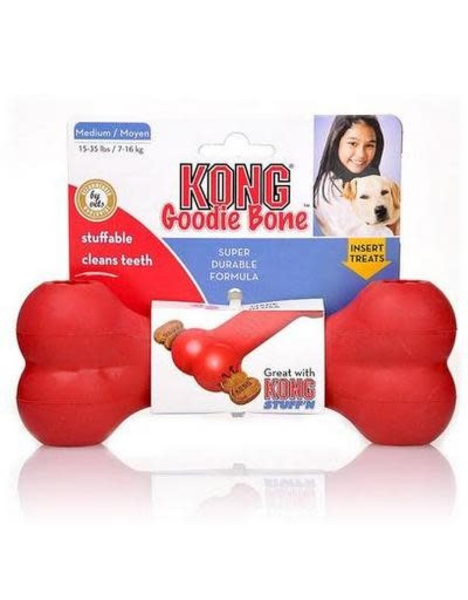 Kong KONG Goodie Bone Red M