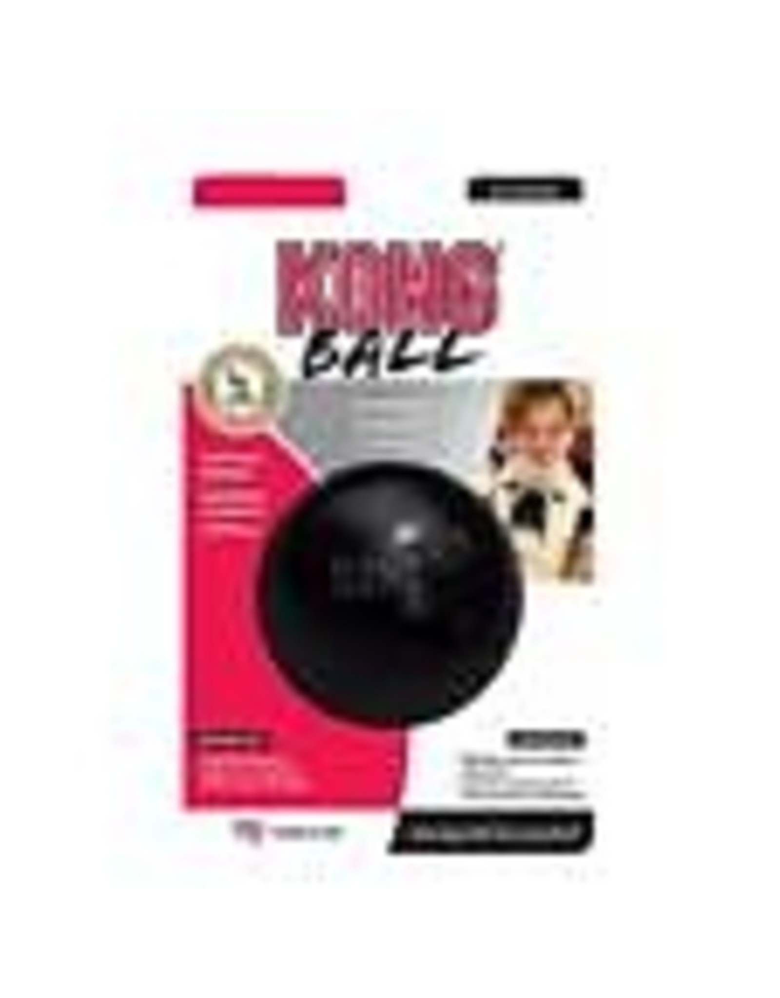 Kong KONG Extreme Ball Hard Rubber M/L 4in