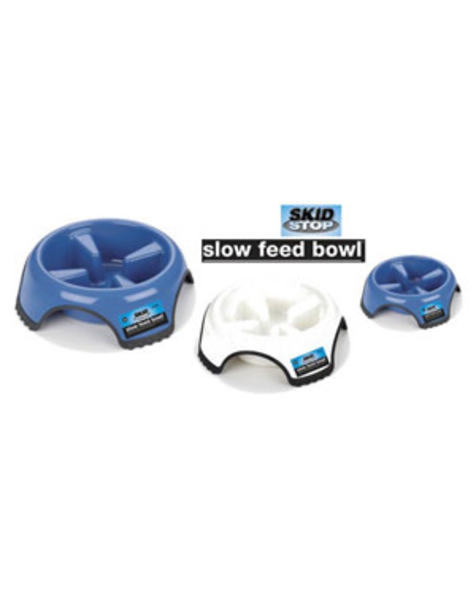 J W Pet JW Skid Stop Slow Feed Bowl M