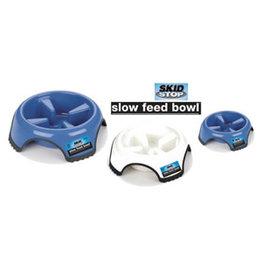 J W Pet JW Skid Stop Slow Feed Bowl L