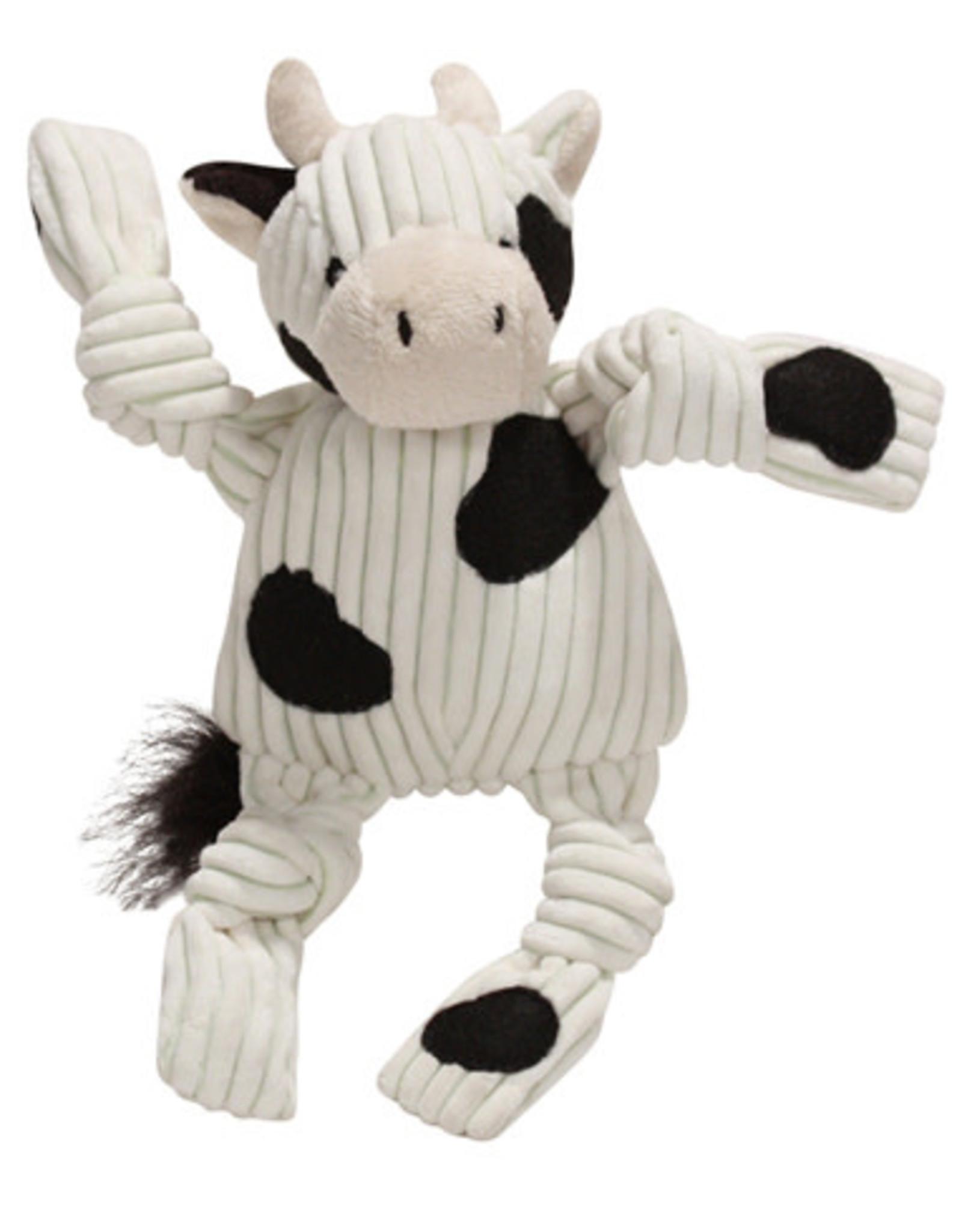 Hugglehounds HUGGLE Knotties Barnyard Cow S