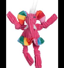 Hugglehounds HUGGLE Rainbow Knottie Elephant L
