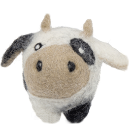 Hugglehounds HUGGLE Eco Wooly Ball Cow