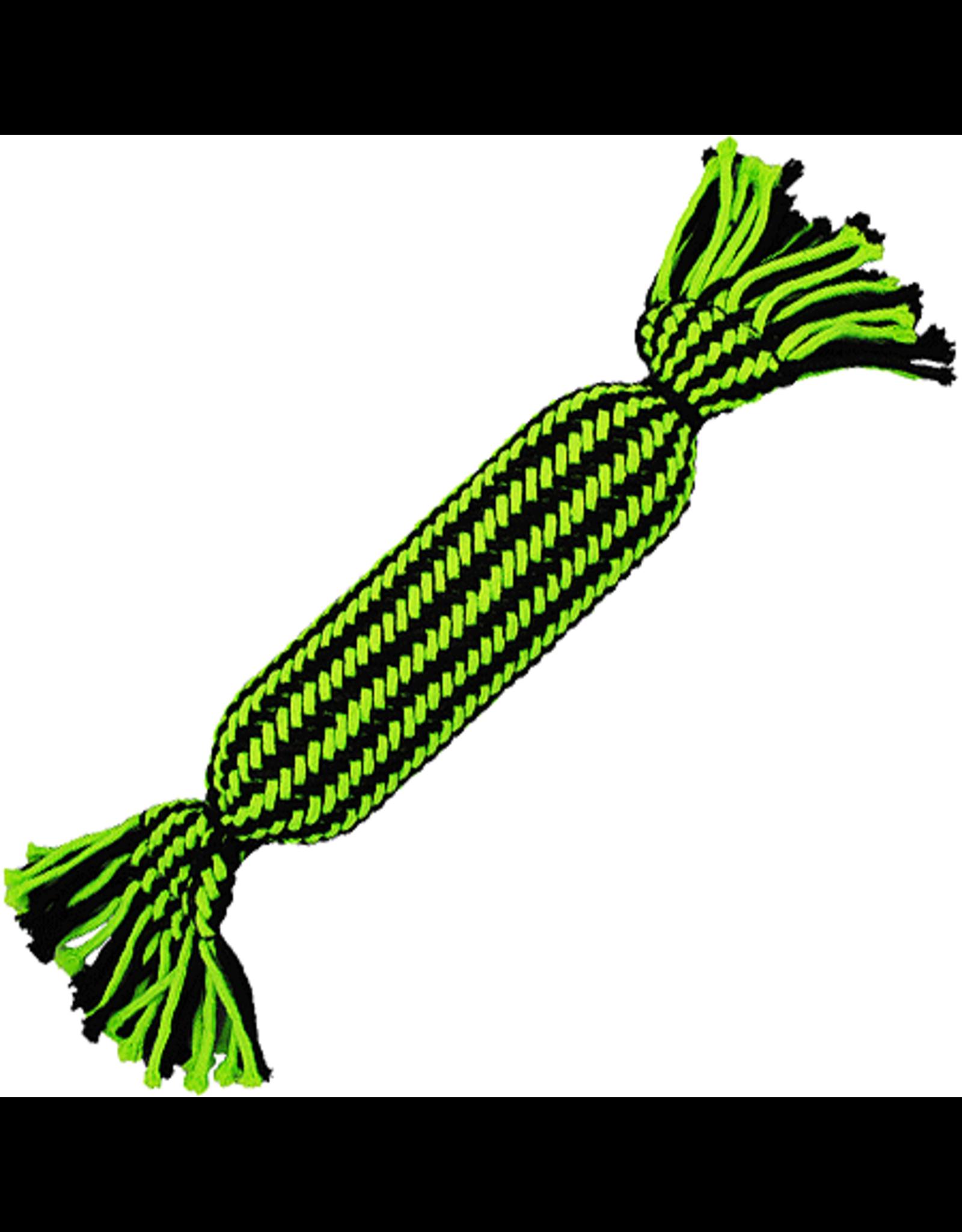 Jolly Pet JOLLYPET Knot-n-Chew Squeaker Tube L/XL