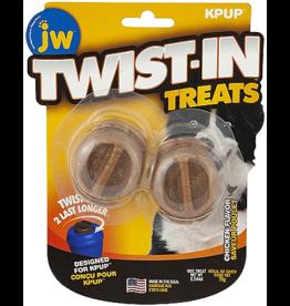 J W Pet JW Twist-In Treat Refill Chicken 2pk