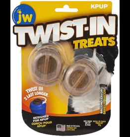 J W Pet JW Twist-In Treat Refill Bacon 2pk