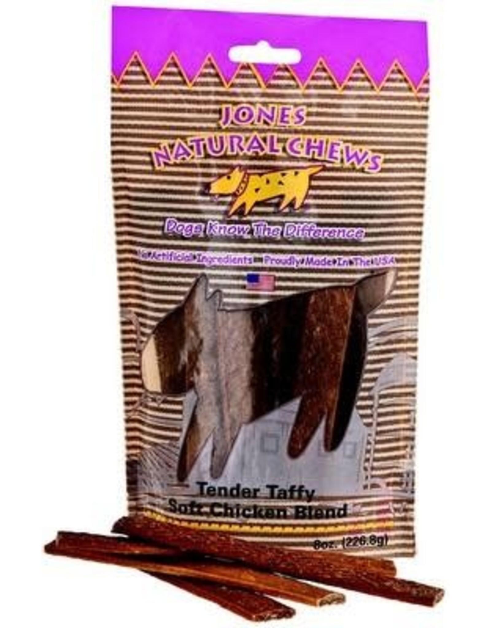 Jones Natural Chews JONES Chicken Blend Tender Taffy 8oz