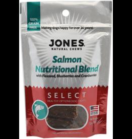 Jones Natural Chews SELECT GF Salmon Nutritional Treat 3.5oz