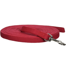 Leather Brothers KOOL KOTTEN Red Training Lead 5/8 x 30'
