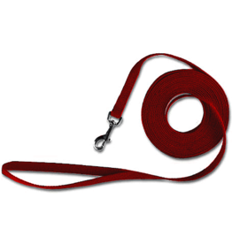 Leather Brothers KOOL KOTTEN Red Training Lead 5/8 x 20'