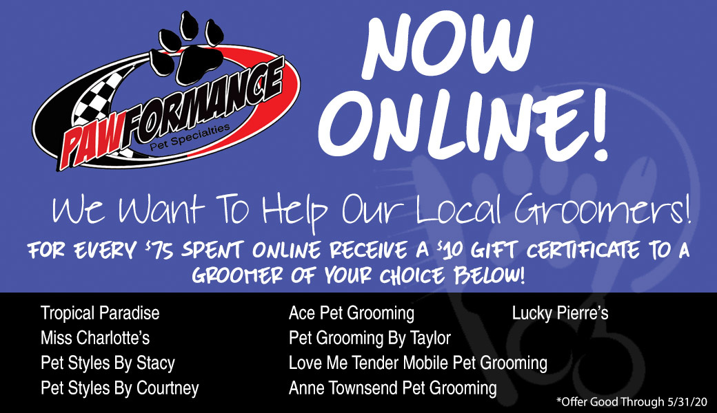 We Want To Help Our Local Groomers!