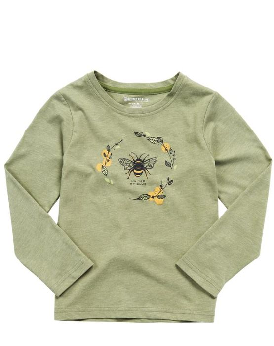 UNITED BY BLUE HONEY BEE L/S