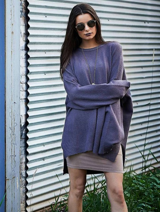 CEST MOI CLOTHING CEST OVERSIZED SWEATER