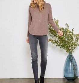 GENTLE FAWN LARKIN MOCK NECK TOP