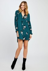 GENTLE FAWN ROSTELLO TEAL DRESS