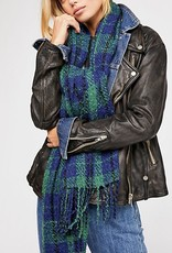 FREE PEOPLE FREE PEOPLE EMERSON PLAID SCARF