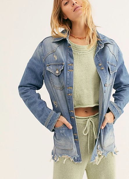 FREE PEOPLE FREE PEOPLE MOONCHILD JACKET