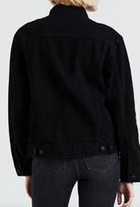 LEVI'S LEVI'S EX-BOYFRIEND TRUCKER BLACK