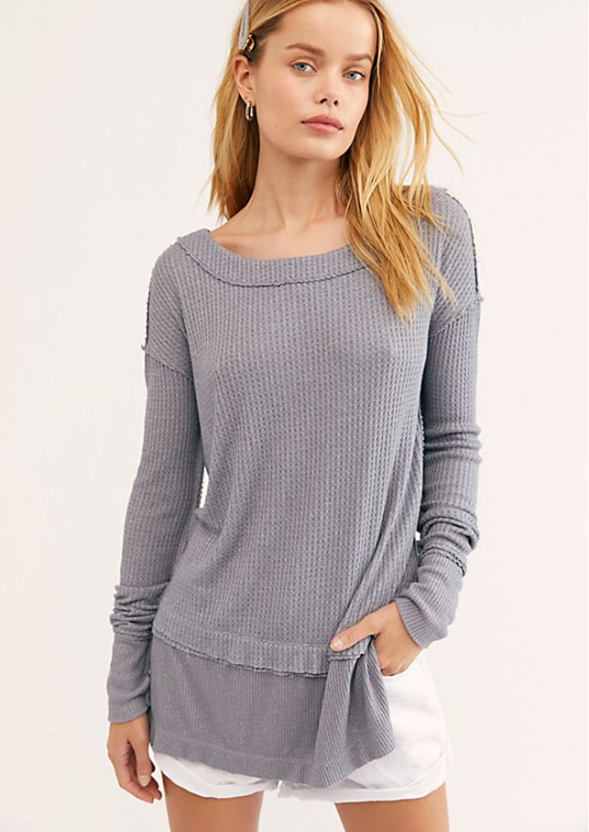 FREE PEOPLE FREE PEOPLE NORTH SHORE THERMAL