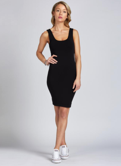 CEST MOI CLOTHING BAMBOO TANK DRESS