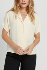 FRANK AND OAK FRANK AND OAK COLLAR BLOUSE