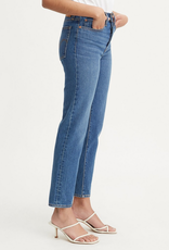 LEVI'S LEVI'S WEDGIE ICON FIT MID BLUE