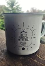 HOUSE OF FREYJA Freyja Whiskey White Camp Mug
