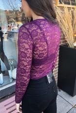 CEST MOI CLOTHING CEST MOI LACE BODYSUIT