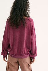 FREE PEOPLE SWEET MYRTLE TEE