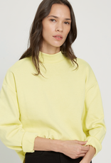 FRANK AND OAK FRANK AND OAK MOCK NECK SWEATSHIRT