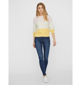 Vero Moda VERO MODA 3/4 BLOCK SWEATER