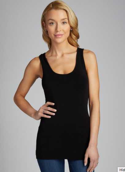 CEST MOI CLOTHING BAMBOO TANK BLACK