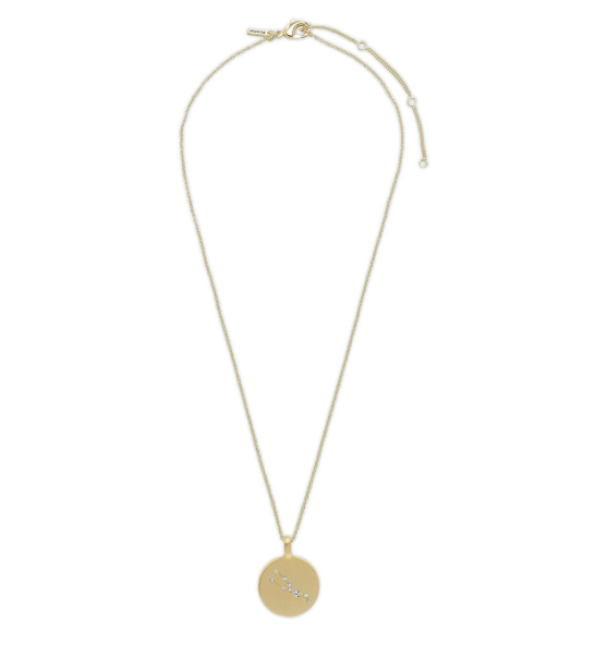 PILGRAM PILGRAM GOLD TAURUS NECKLACE