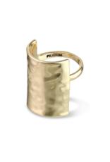 PILGRAM PILGRAM YGGDRASIL GOLD RING