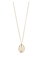 PILGRAM PILGRIM GOLD SUN NECKLACE
