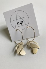 MAIDEN PERRAS MAIDEN PERRAS LEAF EARRING