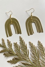 MAIDEN PERRAS MAIDEN PERRAS RAINBOW WIND CHIME EARRING